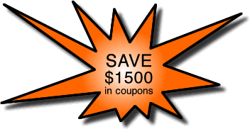 Save $1500 in coupons